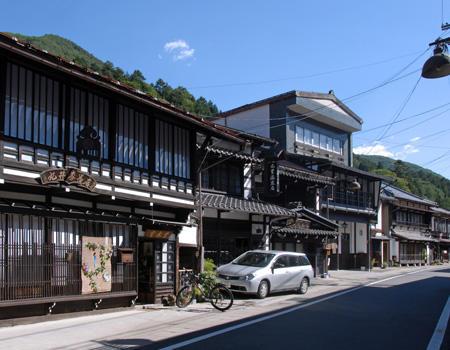 漆工町 木曽平沢 イメージ写真