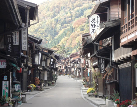 奈良井宿 イメージ写真