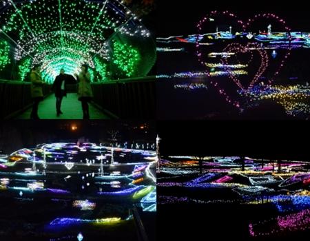光の森のページェント(堀金・穂高地区) イメージ写真