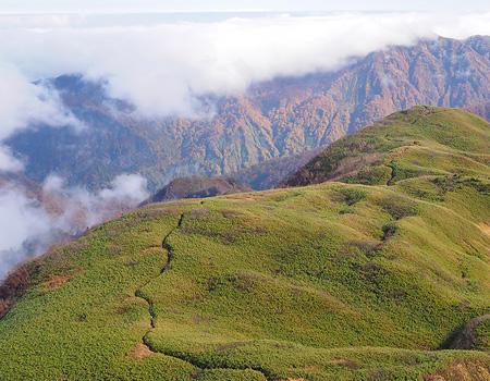 雨飾山 イメージ写真