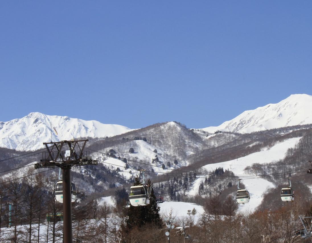 小谷村のスキー場 イメージ写真